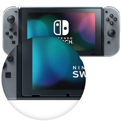 iGadgitz 2x Pack of Screen Protector for Nintendo Switch 2017 Clear Protective Film Thumbnail 3