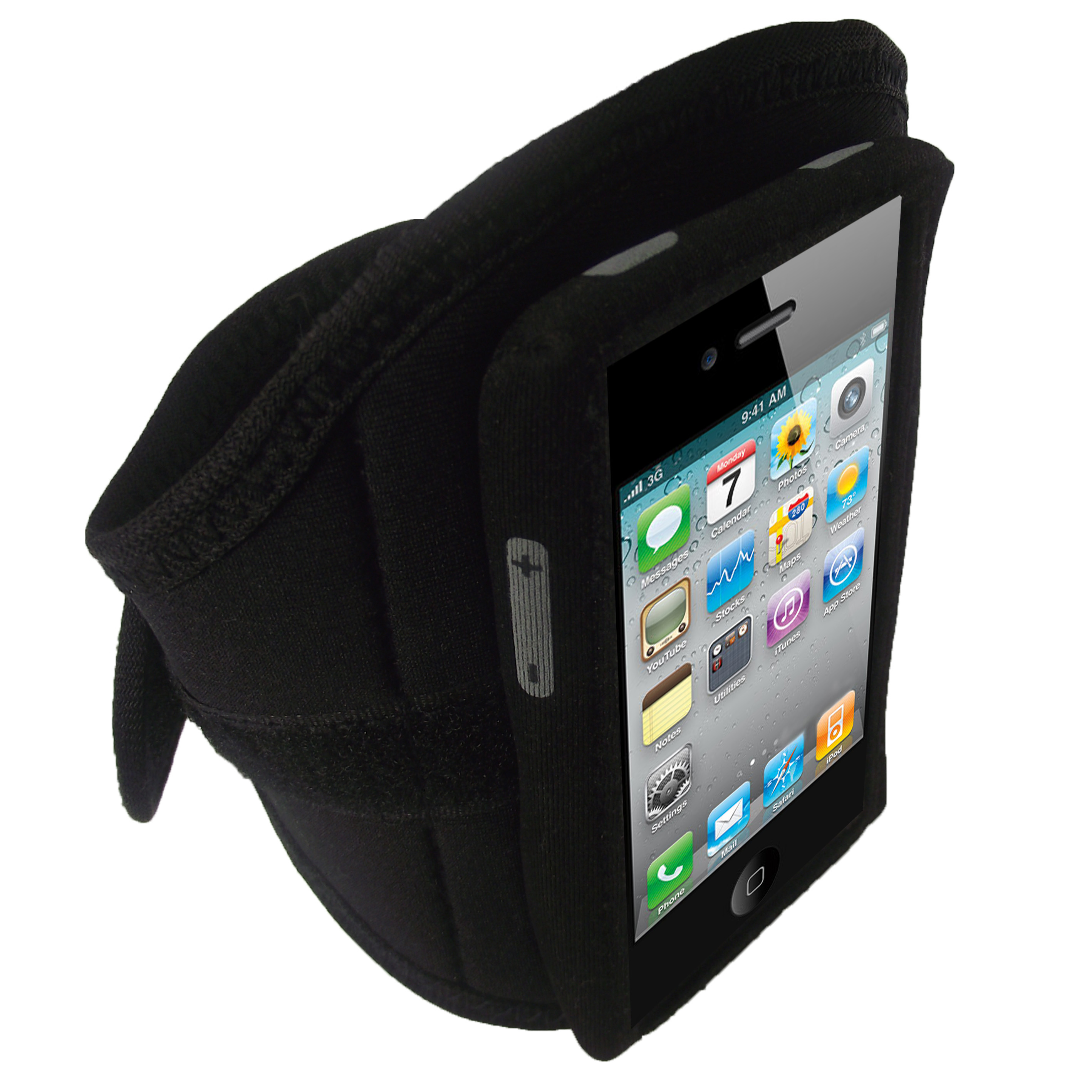 iGadgitz Water Resistant Neoprene Sports Armband for iPod ...