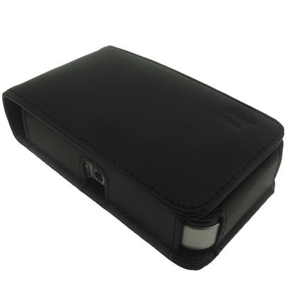 iGadgitz Genuine Leather Case Cover for Pure Pocket DAB 1500 Radio Thumbnail 4