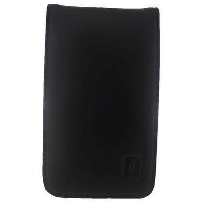iGadgitz Genuine Leather Case Cover for Pure Pocket DAB 1500 Radio Thumbnail 2