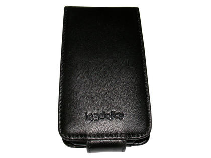 iGadgitz Black Genuine Leather Case for Apple iPod Touch 2nd & 3rd Gen + Belt Clip & Screen protector Thumbnail 2