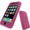 View Item iGadgitz PINK Silicone Skin Case Cover for Apple iPhone 3G + Screen Protector