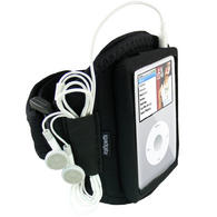 View Item iGadgitz Water Resistant Neoprene Sports Gym Jogging Armband for Apple iPod Classic 80gb, 120gb & 160gb