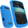 View Item Blue Silicone Skin Case for Blackberry Curve 8900 Cover Holder