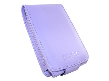 iGadgitz Purple PU Leather Case for Apple iPod Classic 80gb, 120gb & latest 160gb + Belt Clip & Screen Protector Thumbnail 3