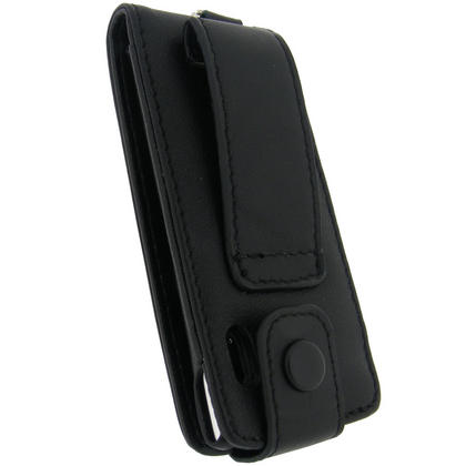 iGadgitz BLACK Genuine Leather Case for Apple iPod Nano 5th Gen (with Video Camera) & Screen Protector Thumbnail 4