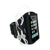 View Item Black Neoprene Sports Armband for Apple iPhone 3G & New 3GS 8GB, 16GB & 32GB