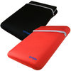 View Item iGadgitz Red/Black Reversible Neoprene Sleeve Case Cover for Packard Bell DOT S