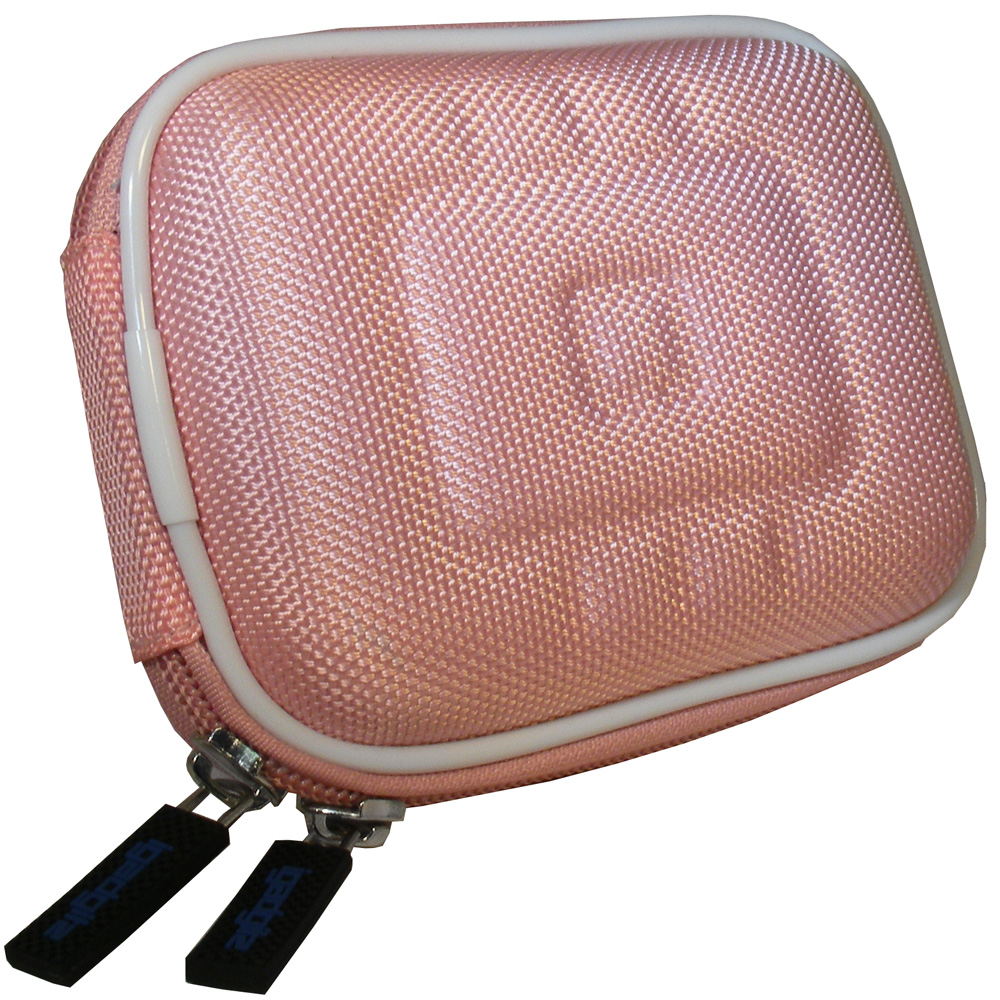 Pink Hard Case Cover for Kodak HD Zi8 Video Camera Enlarged Preview