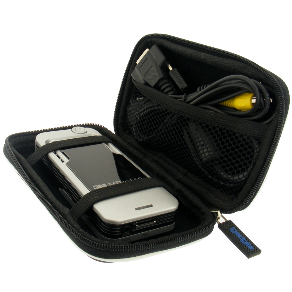 Black hard case cover for optoma pk101 pico projector ebay for Pocket projector case