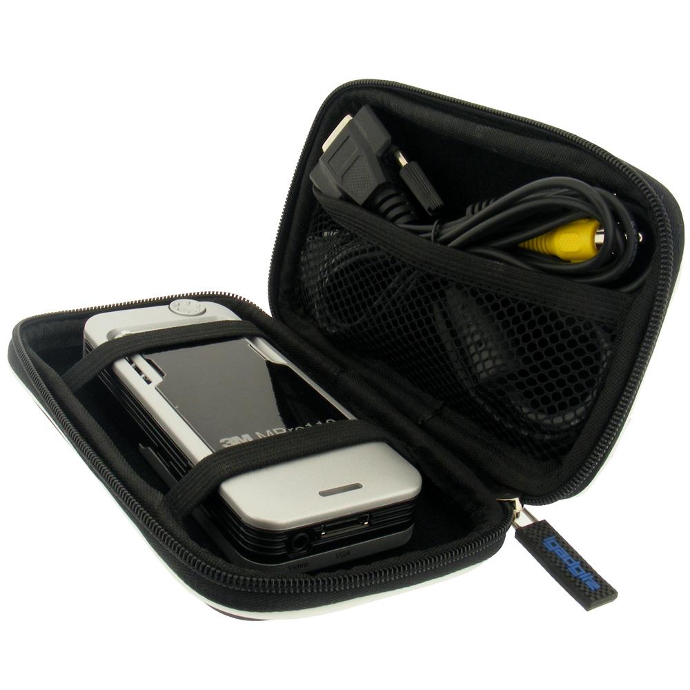 Black hard case cover for optoma pk101 pico projector ebay for Pico pro mini projector review