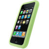 View Item iGadgitz Green Silicone Skin Case Cover Holder for Apple iPhone 3G & 3GS + Screen Protector