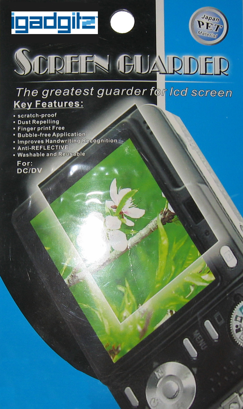 3x Stick-On Screen Protector for BlackBerry Bold 9700 Enlarged Preview