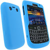 View Item iGadgitz Blue Silicone Skin Case Cover for BlackBerry Bold 9700 & 9780 + Screen Protector