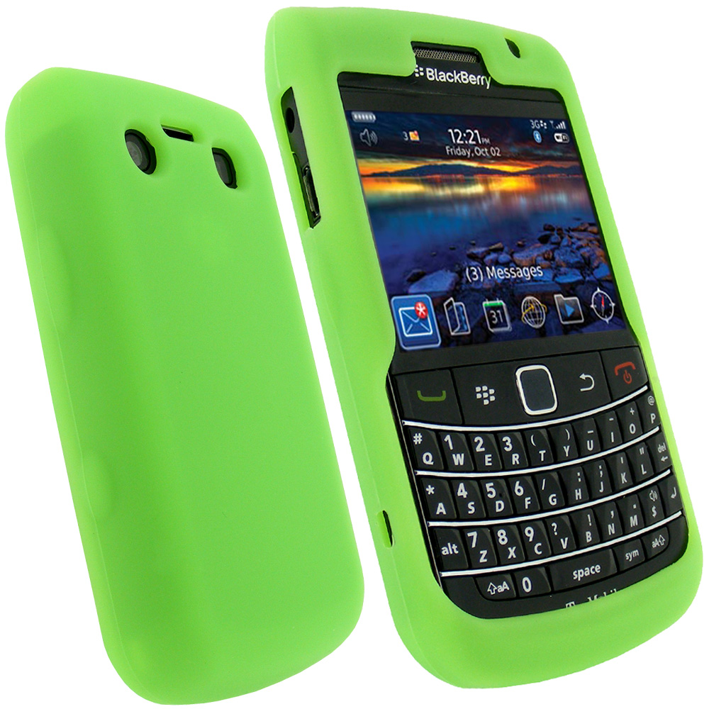 green silicone skin cover for blackberry bold 9700 9780 ebay. Black Bedroom Furniture Sets. Home Design Ideas