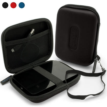 "iGadgitz Black EVA Hard Case Cover for Samsung M3 & P3 500GB, 1TB & 2TB USB 3.0 Slimline 2.5"" Portable Hard Drive Thumbnail 1"
