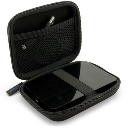 "iGadgitz Black EVA Hard Case Cover for Samsung M3 & P3 500GB, 1TB & 2TB USB 3.0 Slimline 2.5"" Portable Hard Drive Thumbnail 6"