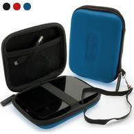 "iGadgitz Blue EVA Hard Case Cover for Samsung M3 & P3 500GB, 1TB & 2TB USB 3.0 Slimline 2.5"" Portable Hard Drive"
