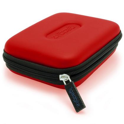 "iGadgitz Red EVA Hard Case Cover for Samsung M3 & P3 500GB, 1TB & 2TB USB 3.0 Slimline 2.5"" Portable Hard Drive Thumbnail 4"