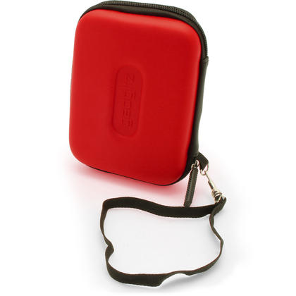 "iGadgitz Red EVA Hard Case Cover for Samsung M3 & P3 500GB, 1TB & 2TB USB 3.0 Slimline 2.5"" Portable Hard Drive Thumbnail 5"