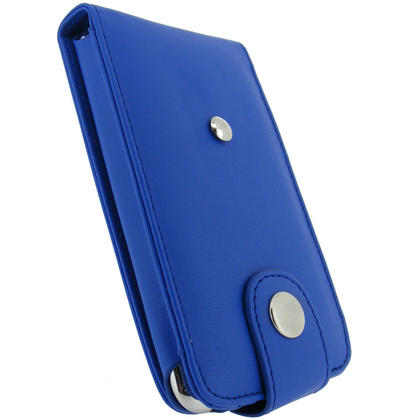 iGadgitz Blue PU Leather Case for Apple iPod Touch 2nd & 3rd Gen + Belt Clip & Screen protector Thumbnail 3