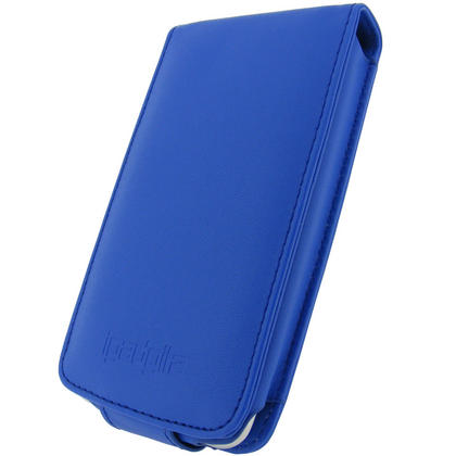 iGadgitz Blue PU Leather Case for Apple iPod Touch 2nd & 3rd Gen + Belt Clip & Screen protector Thumbnail 2