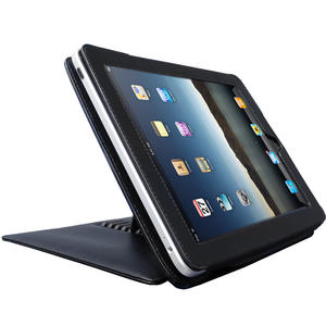 iGadgitz Black PU Leather Executive Case Cover Holder for Apple iPad 1st Generation with Stand Preview