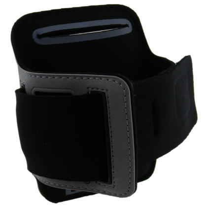 iGadgitz 'Jog Safe' Reflective Neoprene Sports Armband for Apple iPod Touch 2nd, 3rd & 4th Gen 8gb, 16gb, 32gb & 64gb Thumbnail 2
