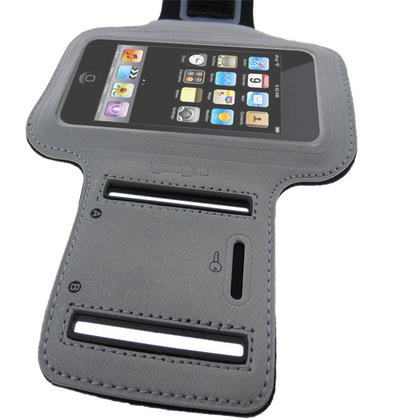 iGadgitz 'Jog Safe' Reflective Neoprene Sports Armband for Apple iPod Touch 2nd, 3rd & 4th Gen 8gb, 16gb, 32gb & 64gb Thumbnail 3