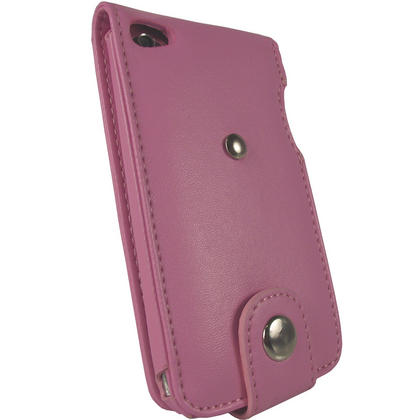 iGadgitz Pink PU Leather Case Cover for Apple iPod Touch 4th Generation 8gb, 32gb & 64gb + Belt Clip & Screen protector Thumbnail 3
