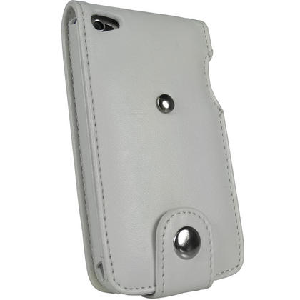iGadgitz White PU Leather Case Cover for Apple iPod Touch 4th Generation 8gb, 32gb & 64gb + Belt Clip & Screen protector Thumbnail 3