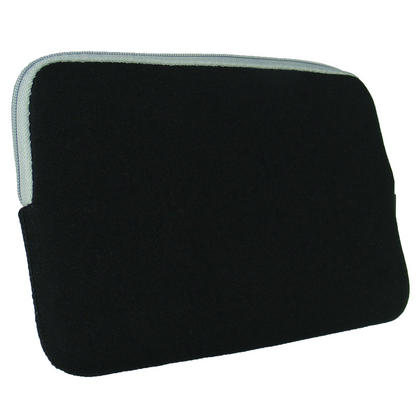 iGadgitz Black Neoprene Sleeve Case with Pocket for Amazon Kindle 3 Keyboard Graphite (Version Released Aug 2010) Thumbnail 4