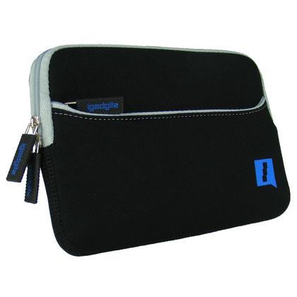 iGadgitz Black Neoprene Sleeve Case with Pocket for Amazon Kindle 3 Keyboard Graphite (Version Released Aug 2010) Thumbnail 3