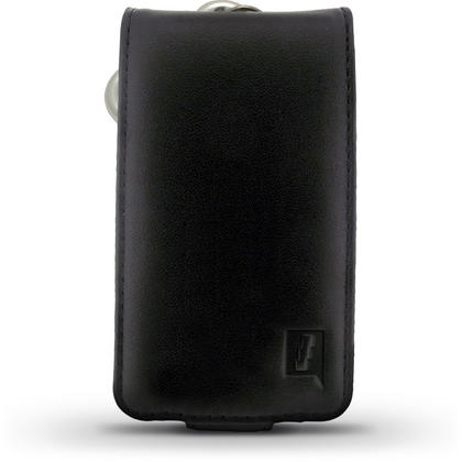 iGadgitz Black Genuine Leather Case Cover Holder for Roberts Sports DAB 2 Radio Thumbnail 2