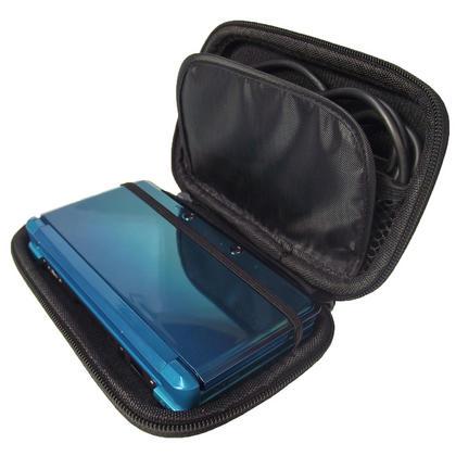 iGadgitz Silver EVA Hard Case Cover for Nintendo 3DS + set of 2 Screen Protectors Thumbnail 3