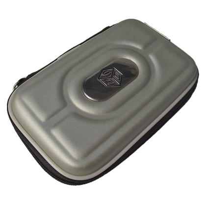 iGadgitz Silver EVA Hard Case Cover for Nintendo 3DS + set of 2 Screen Protectors Thumbnail 2
