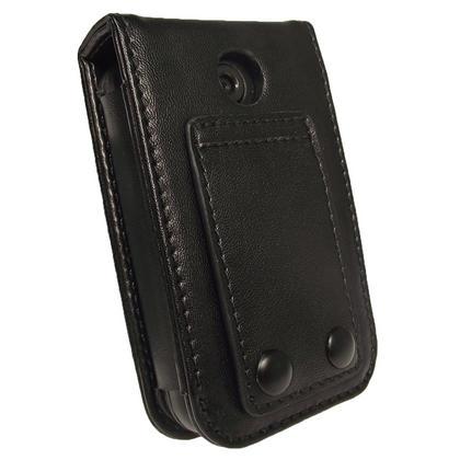 iGadgitz Black PU Leather Case Cover for Kubik Edge II 8GB MP3 Player Thumbnail 3