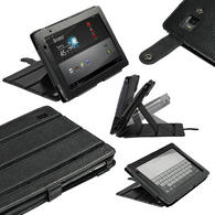 View Item iGadgitz Black 'Guardian' PU Leather Case Cover for Acer Iconia Tab A500 A501 10.1 Android Tablet 16gb 32gb
