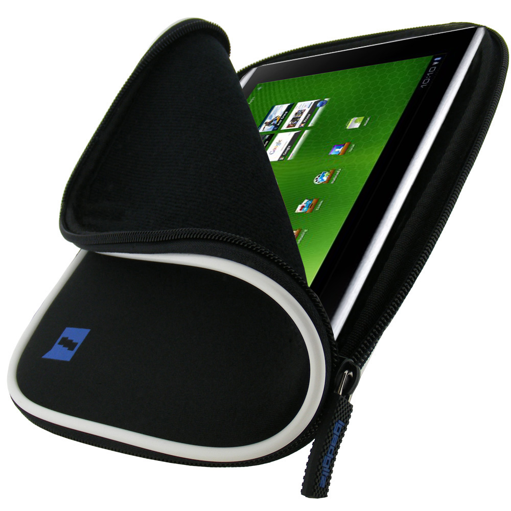 noire tui housse pochette pour acer iconia tab a500 a501 10 1 tablette 16gb ebay. Black Bedroom Furniture Sets. Home Design Ideas
