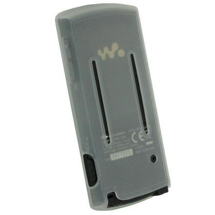 iGadgitz Clear Silicone Skin Case & Sports Armband for Sony Walkman NWZ-E463 NWZ-E464 E Series Video + Screen Protector Thumbnail 3