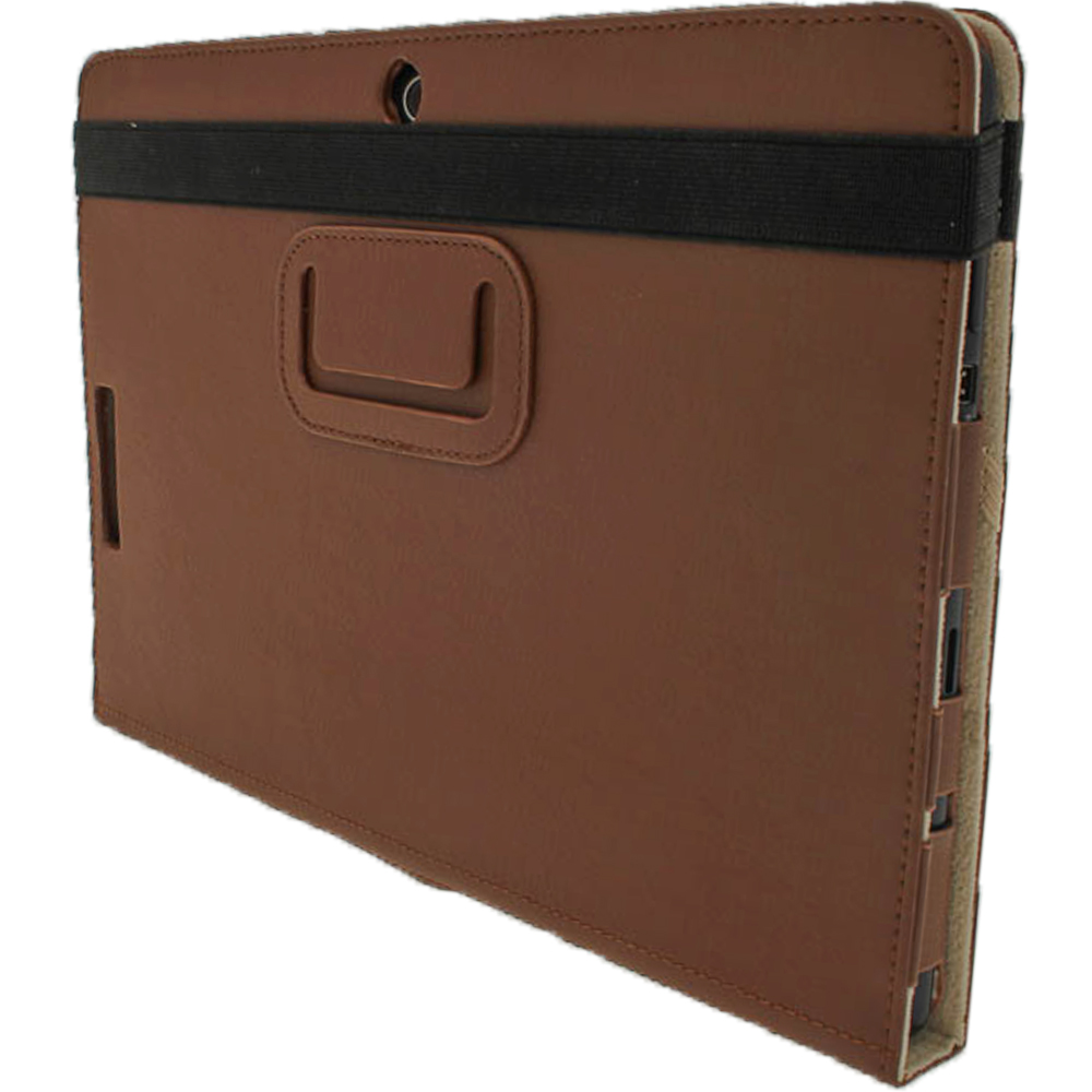 Brown Leather Case for Asus Eee Pad Transformer TF300 ...