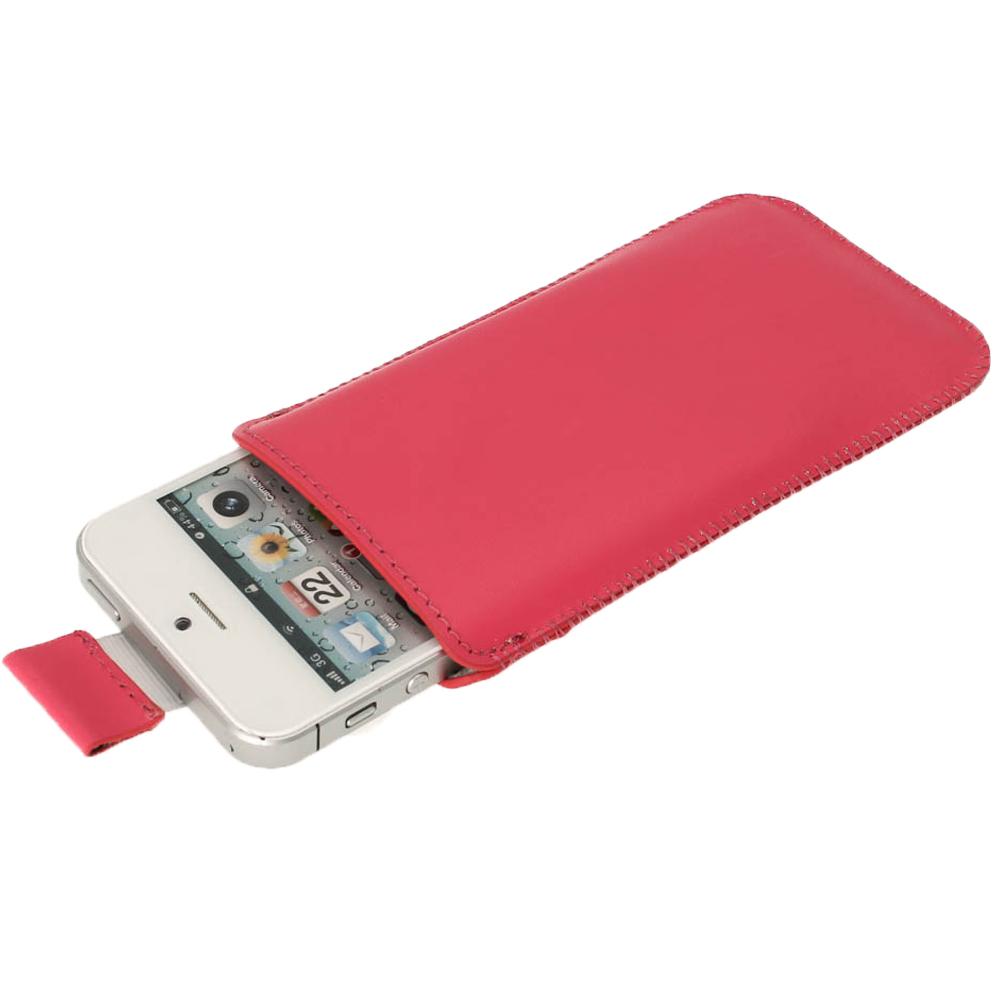 Rose tui housse case pochette en cuir pour nouveau apple for Housse iphone 5s