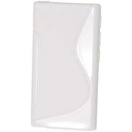 iGadgitz Dual Tone White Gel Case for Apple iPod Nano 7th Generation 7G 16GB + Screen Protector Thumbnail 3