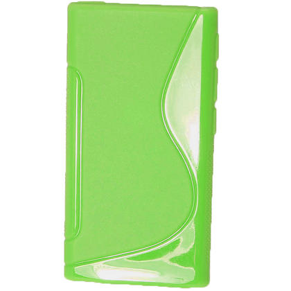 iGadgitz Dual Tone Green Gel Case for Apple iPod Nano 7th Generation 7G 16GB + Screen Protector Thumbnail 3