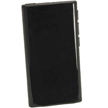 iGadgitz Black Glossy Gel Case for Apple iPod Nano 7th Generation 7G 16GB + Screen Protector Thumbnail 3