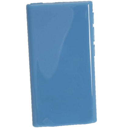 iGadgitz Blue Glossy Gel Case for Apple iPod Nano 7th Generation 7G 16GB + Screen Protector Thumbnail 3