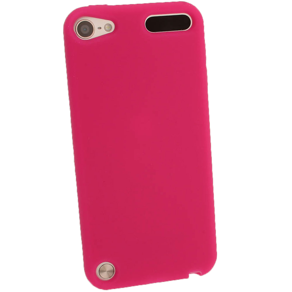 iGadgitz Pink Silicone Skin Case Cover for Apple iPod ... Ipod 5 Pink Cases