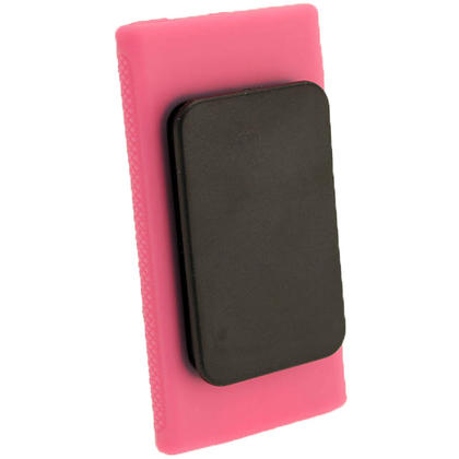 iGadgitz Pink 'Clip'n'Go' Gel Case for Apple iPod Nano 7th Gen with Integrated Sports Clip + Screen Protector Thumbnail 3