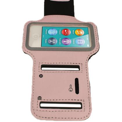 iGadgitz Pink Reflective Anti-Slip Neoprene Sports Gym Jogging Armband for Apple iPod Nano 7th Generation 16GB Thumbnail 3
