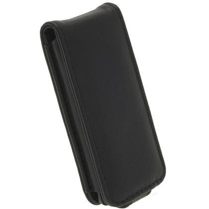 iGadgitz Black Genuine Leather Case for Sony Walkman NWZ-E473 NWZ-E474 NWZ-E574 NWZ-E575 E Series MP3 Player Thumbnail 5